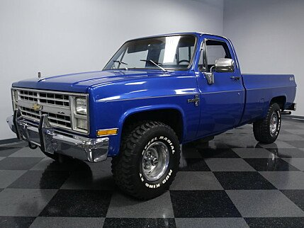 1987 Chevrolet Silverado and other C/K1500 4x4 Regular Cab for sale 100814245