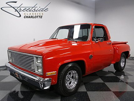1987 Chevrolet Silverado and other C/K1500 2WD Regular Cab for sale 100889187