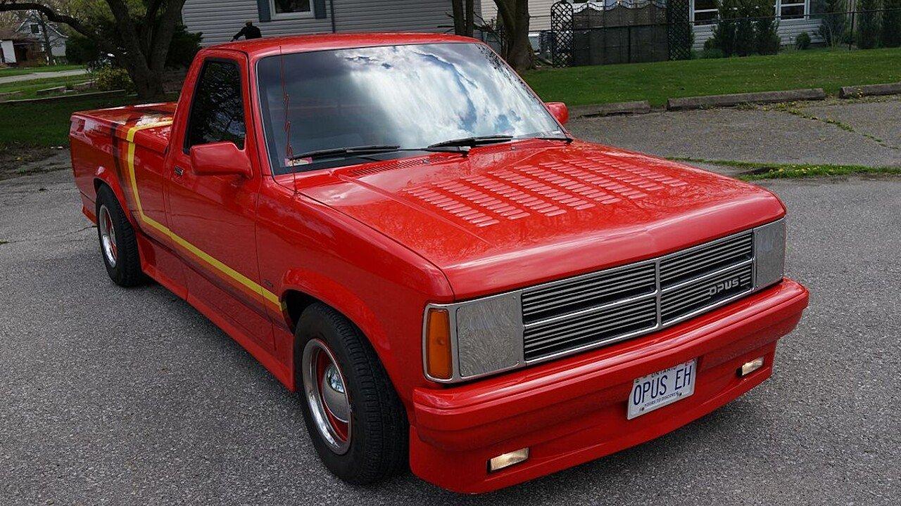 1987 Dodge Dakota 2WD Regular Cab for sale near Windsor, Ontario ...