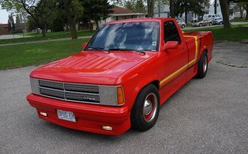 1987 Dodge Dakota 2WD Regular Cab for sale 100759938
