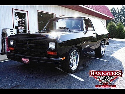 1987 Dodge Ramcharger 2WD for sale 100912211