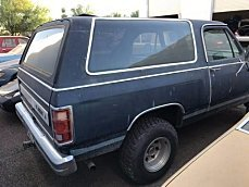 1987 Dodge Ramcharger for sale 100927129