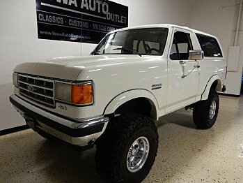 1987 Ford Bronco for sale 100766356