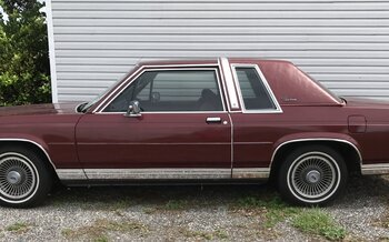 1987 Ford Crown Victoria LX Coupe for sale 100887108