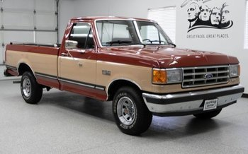 1987 Ford F150 2WD Regular Cab for sale 101000747