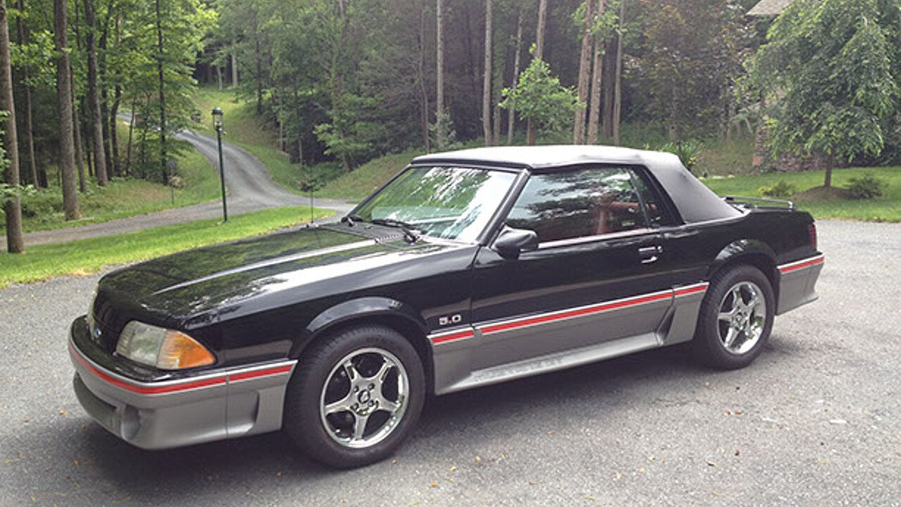 1987 ford mustang gt convertible for sale near lenoir. Black Bedroom Furniture Sets. Home Design Ideas