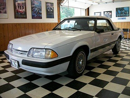 1987 Ford Mustang LX Convertible for sale 100901076