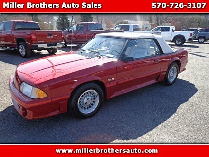 1987 Ford Mustang GT Convertible for sale 100967470