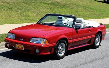 1987 Ford Mustang GT Convertible for sale 100998432