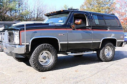 1987 GMC Jimmy 4WD for sale 100944118