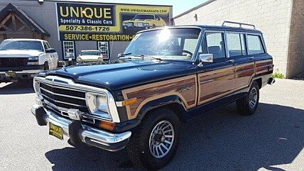 1987 jeep grand wagoneer for sale 100762665. Cars Review. Best American Auto & Cars Review