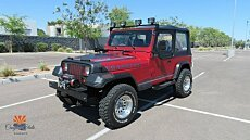 1987 Jeep Wrangler 4WD for sale 100991710