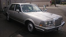 1987 Lincoln Continental for sale 100834910