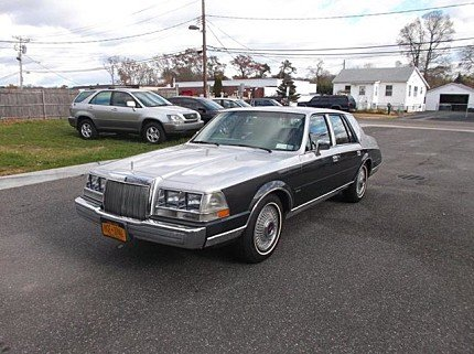 1987 Lincoln Continental for sale 100926948