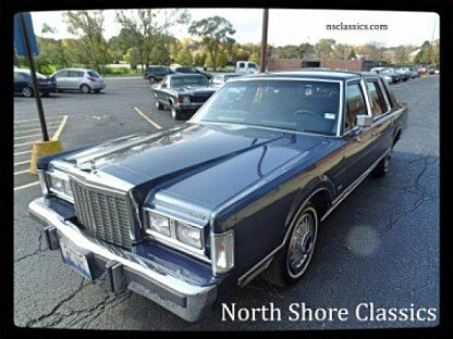 1987 Lincoln Town Car for sale 100814986
