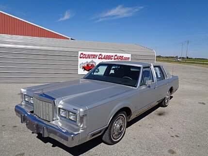 1987 Lincoln Town Car for sale 100912335