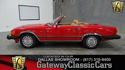1987 Mercedes-Benz 560SL for sale 100766671