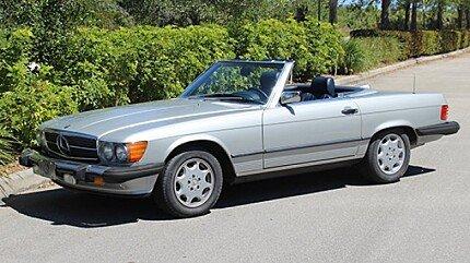 1987 Mercedes-Benz 560SL for sale 100857841