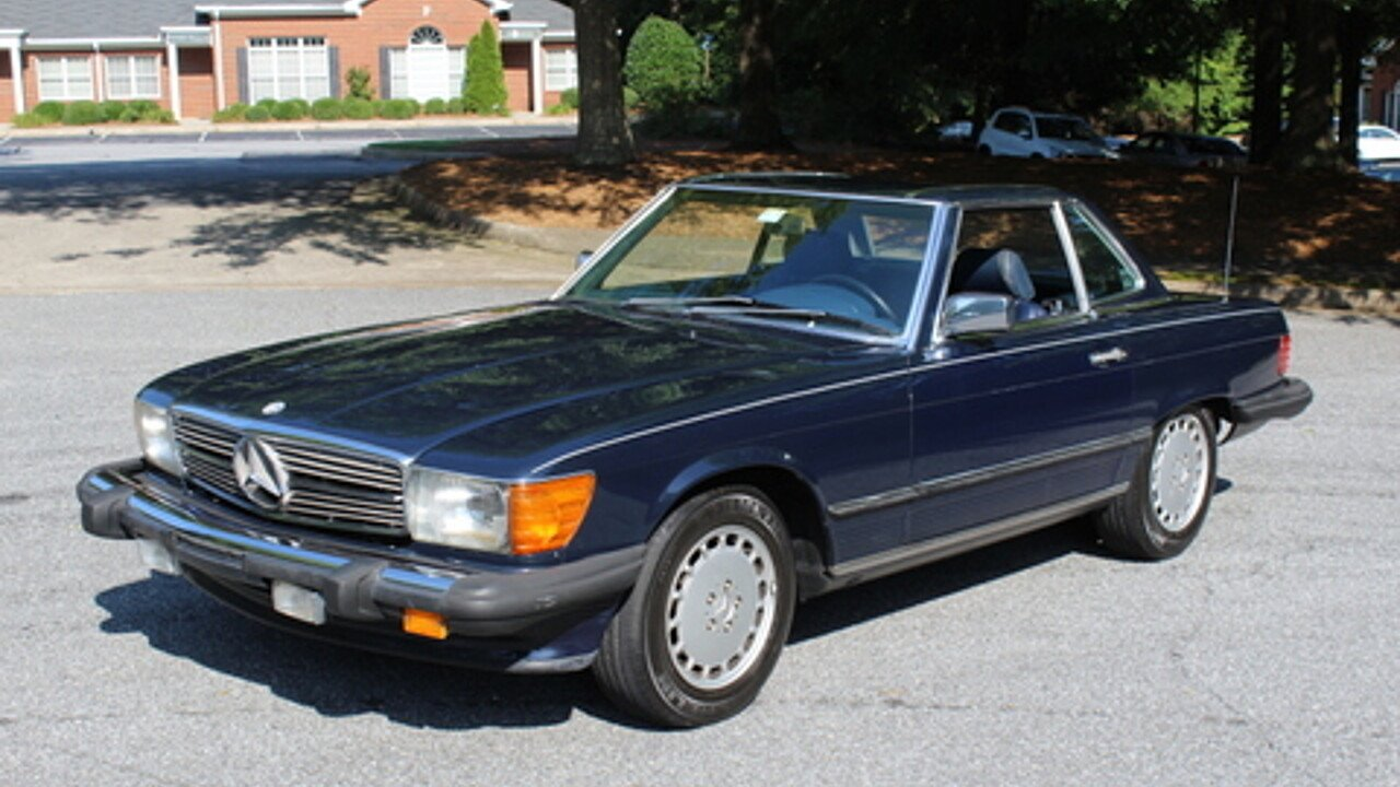 1987 Mercedes Benz 560sl For Sale Near Roswell Georgia 30076 Fuel Filter 100996418