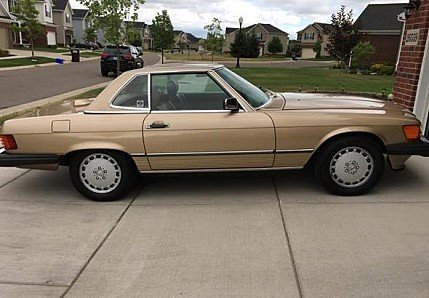 1987 Mercedes-Benz 560SL for sale 100791642
