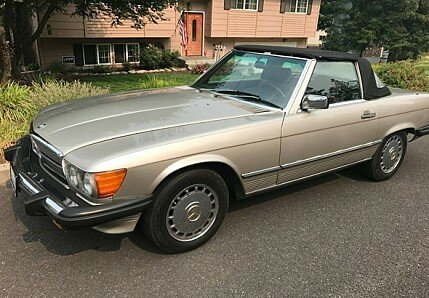 1987 Mercedes-Benz 560SL for sale 100907128