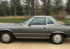 1987 Mercedes-Benz 560SL for sale 101000575