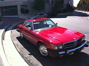 1987 Mercedes-Benz 560SL for sale 101001008