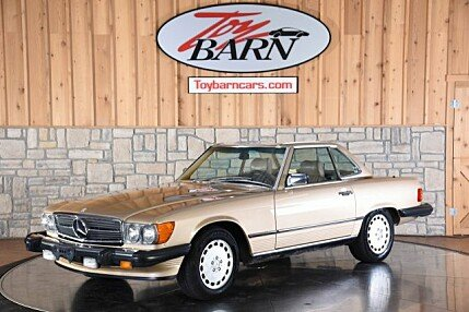 1987 Mercedes-Benz 560SL for sale 101018086