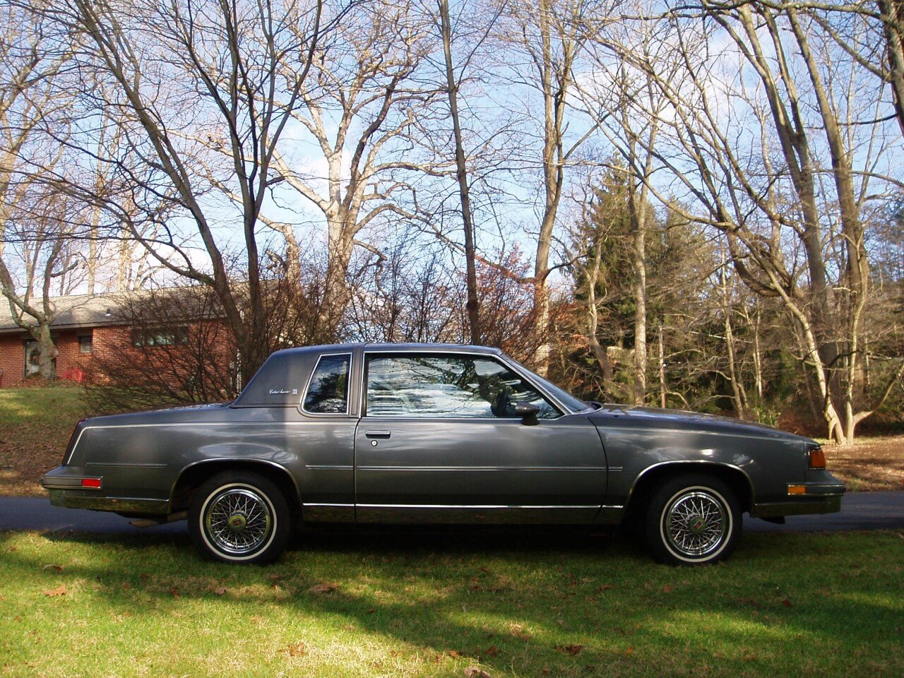 Used Police Cars For Sale In Pa >> 1987 Oldsmobile Cutlass Supreme Brougham Coupe for sale near langhorne, Pennsylvania 19063 ...