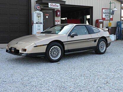 1987 Pontiac Fiero for sale 100787028