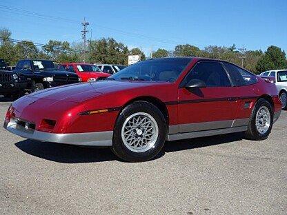 1987 Pontiac Fiero GT for sale 100974661