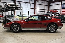1987 Pontiac Fiero GT for sale 100991877