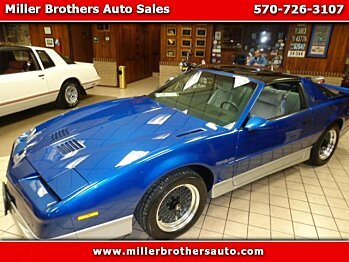 1987 Pontiac Firebird Trans Am Coupe for sale 100957074