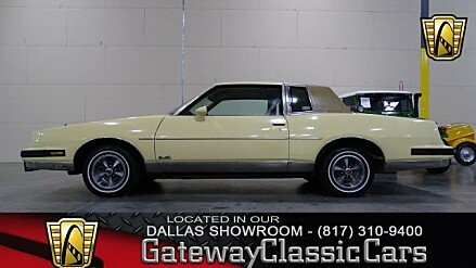 1987 Pontiac Grand Prix Brougham Coupe for sale 100985385