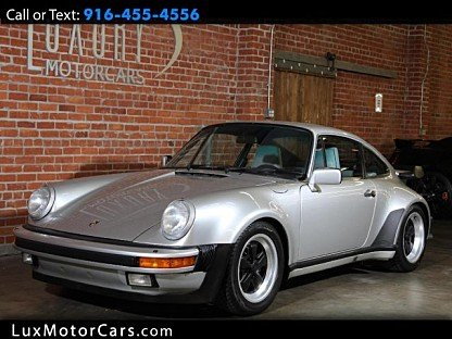 1987 Porsche 911 Turbo Coupe for sale 100896411