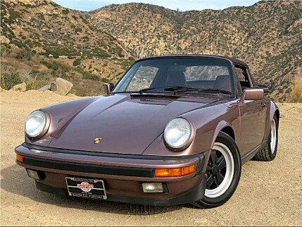 1987 Porsche 911 Carrera Cabriolet for sale 100919630