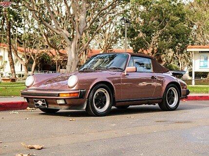 1987 Porsche 911 Carrera Cabriolet for sale 100919630