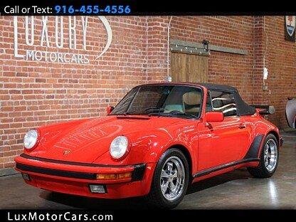 1987 Porsche 911 Carrera Cabriolet for sale 100992555