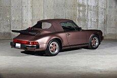 1987 Porsche 911 Carrera Cabriolet for sale 100994943