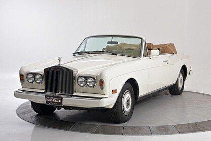 1987 Rolls-Royce Corniche II for sale 100833397