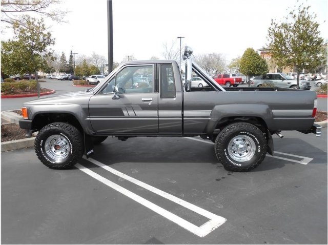 Captivating 1987 Toyota Pickup 4x4 Xtracab Deluxe For Sale 100962454