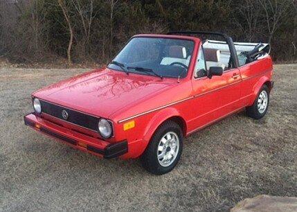 1987 Volkswagen Cabriolet for sale 100849756
