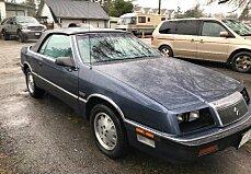 1987 chrysler LeBaron Premium Convertible for sale 100947091