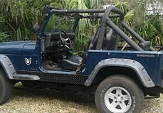 1987 jeep Wrangler for sale 100952690