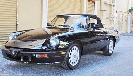 1988 Alfa Romeo Spider for sale 100846965