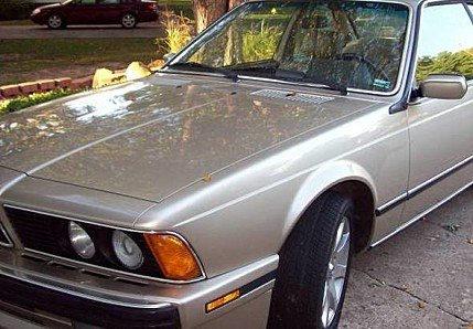 1988 BMW 635CSi Coupe for sale 100792211