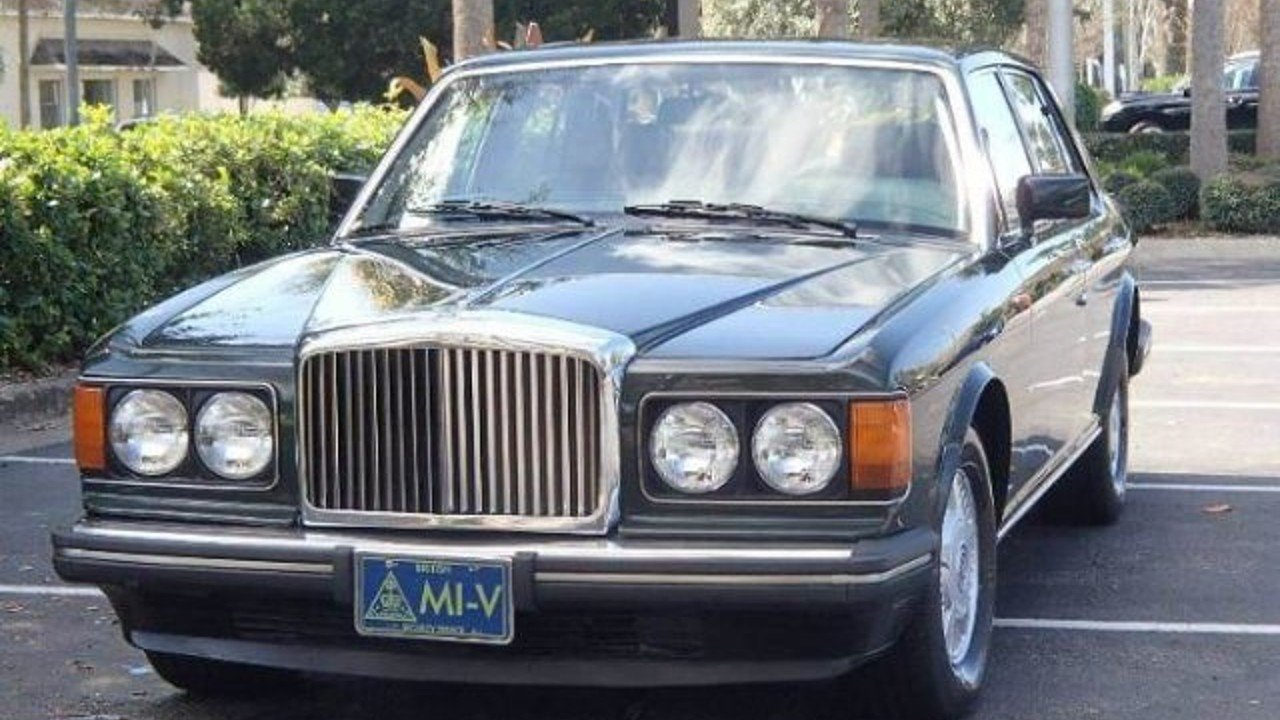 1988 Bentley Mulsanne for sale 100972606