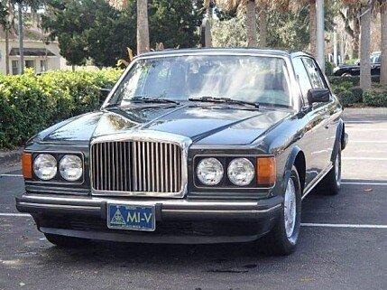 1988 Bentley Mulsanne for sale 100972606