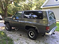 1988 Chevrolet Blazer 4WD for sale 100766186