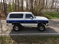 1988 Chevrolet Blazer 4WD for sale 100990482